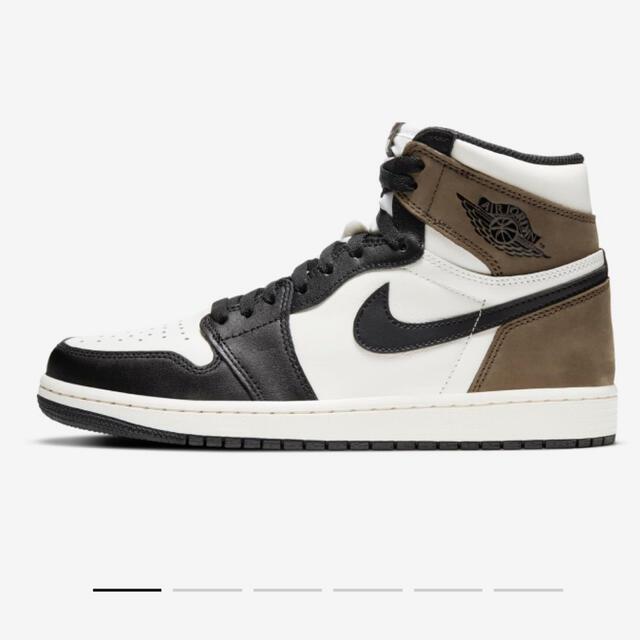 NIKE(ナイキ)のNike AIR JORDAN1 Dark Mocha 未使用 27.5cm メンズの靴/シューズ(スニーカー)の商品写真