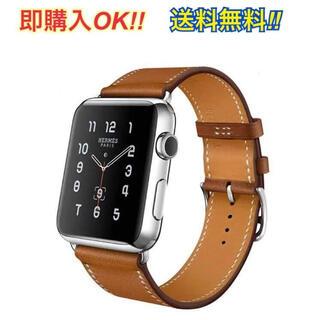 Apple Watch Series 2〜6レザーバンド 即購入OK!!