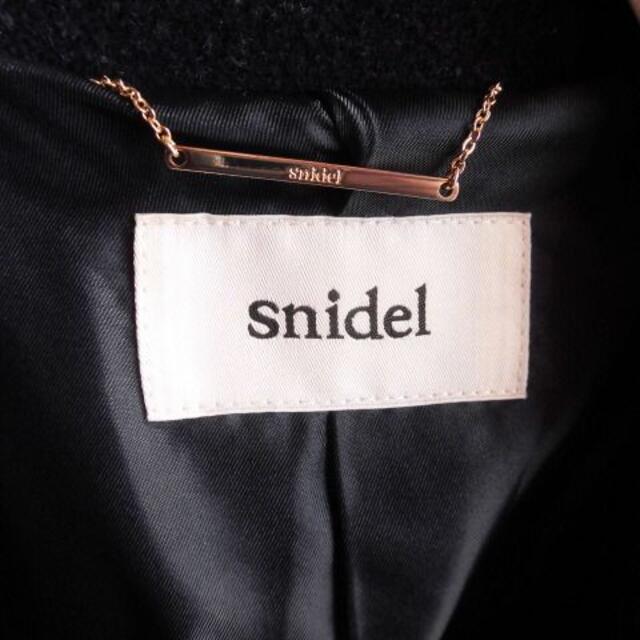 snidel(スナイデル)の定価32400 snidelスナイデル  ラビットファー チェスターコート レディースのジャケット/アウター(チェスターコート)の商品写真