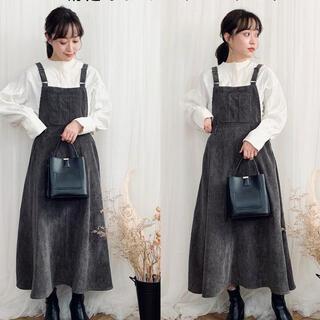 シマムラ(しまむら)のterawear ジャンパースカート 新品未使用 てら しまむら(ロングワンピース/マキシワンピース)