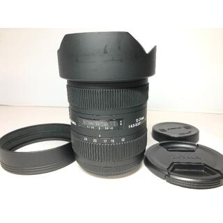 SIGMA - シグマ 12-24mm F4.5-5.6 Ⅱ DG HSM Canon