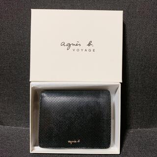 アニエスベー(agnes b.)のアニエスベー 財布 二つ折り がま口 ほぼ新品(財布)
