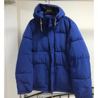 エイチアンドエム(H&M)のH&M ダウンジャケット Mサイズ ブルー(ダウンジャケット)