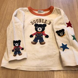 ダブルビー(DOUBLE.B)のMIKIHOUSE ミキハウス DOUBLE_B  ダブルB ロンT(Tシャツ/カットソー)