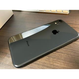iPhone - iPhone XR Black 128 GB SIMフリー 本体