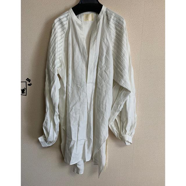 mame(マメ)のi様専用 JUNMIKAMI tuck sleeve blouse レディースのトップス(シャツ/ブラウス(長袖/七分))の商品写真