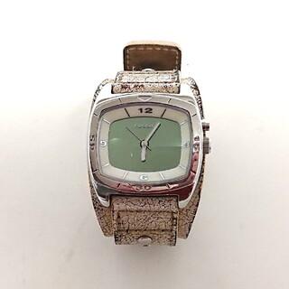 フォッシル(FOSSIL)のFOSSIL 腕時計 クオーツ BG2044 レザー ホワイト ビンテージ加工(腕時計(アナログ))