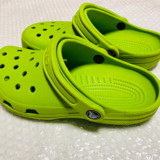 crocs - crocs クロックス 黄緑 サイズ22センチ