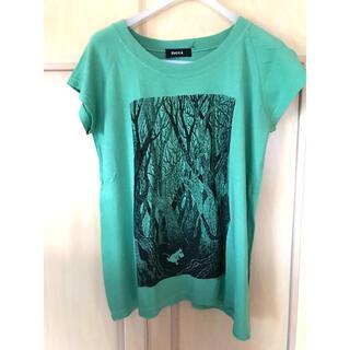 ズッカ(ZUCCa)のズッカ☆ムーミン☆Tシャツ☆M☆美品(Tシャツ(半袖/袖なし))