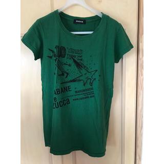 ズッカ(ZUCCa)のズッカ☆丸の内限定Tシャツ☆グリーン☆M(Tシャツ(半袖/袖なし))