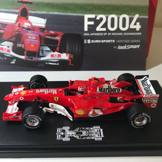 Ferrari - フェラーリF2004 M.シューマッハ マルボロ タバコ仕様 1/43 限定品
