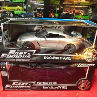 ワイルドスピード ミニカー 1/18  GT-R【R35】2台(ミニカー)