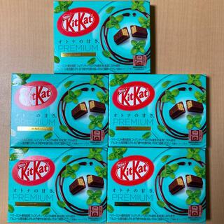 ネスレ(Nestle)のキットカット プレミアム ミント 5箱(菓子/デザート)