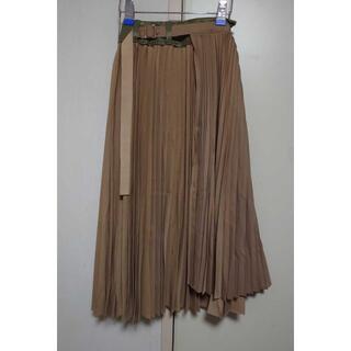 sacai - sacai 2020 アシンメトリー レイヤードスカート
