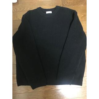 ユナイテッドアローズ(UNITED ARROWS)の黒 ニット(ニット/セーター)