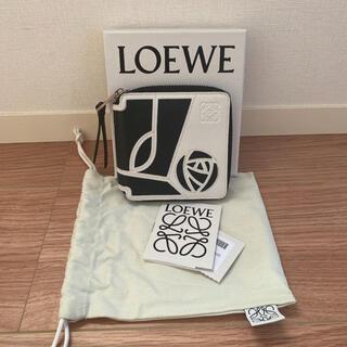 ロエベ(LOEWE)の状態良好 ロエベ   LOEWE 折り財布 ローズ(財布)