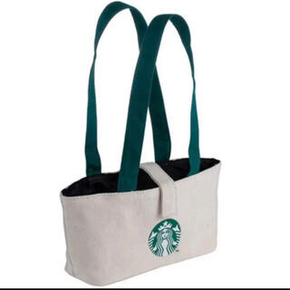 スターバックスコーヒー(Starbucks Coffee)の台湾限定 スターバックス ドリンクホルダー ドリンクバッグ ダブルカップ スタバ(トートバッグ)