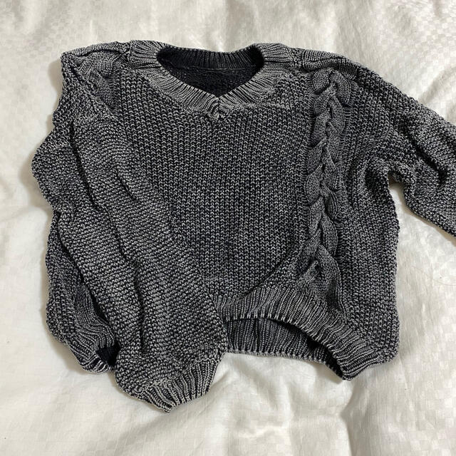 GYDA(ジェイダ)のGYDA ニット ブラック レディースのトップス(ニット/セーター)の商品写真