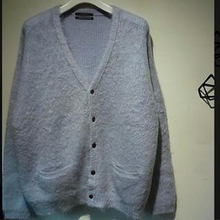 アンユーズド(UNUSED)のunused mohair knit cardigan 19aw(カーディガン)