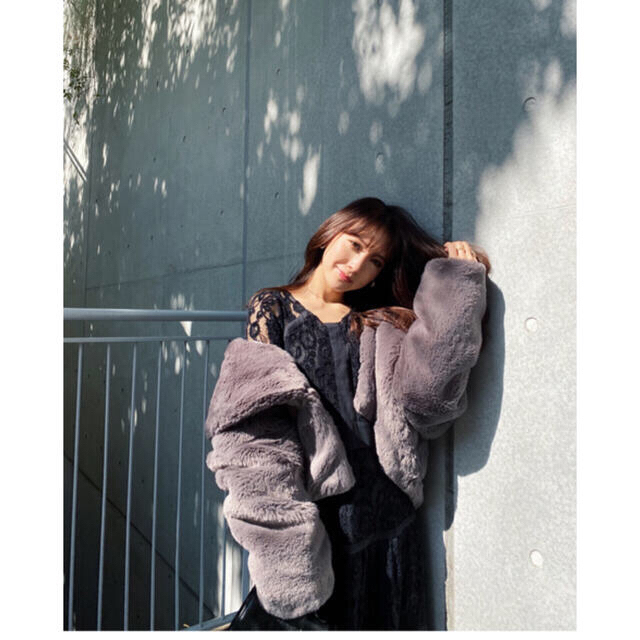 rienda(リエンダ)の最終お値下げ!リエンダ 新品タグ付き レーストリミングロングOP レディースのワンピース(ロングワンピース/マキシワンピース)の商品写真