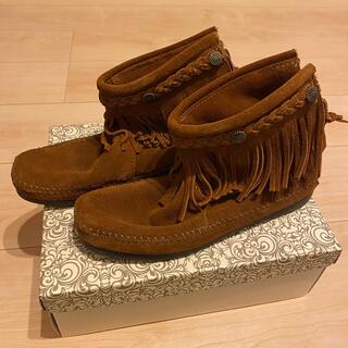 ミネトンカ(Minnetonka)のミネトンカ MINNETONKA  ショートブーツ(ブーツ)