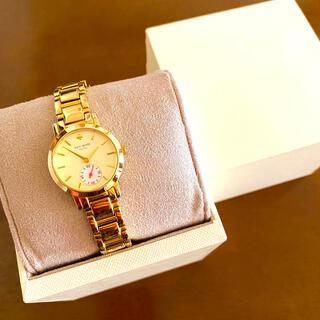 ケイトスペードニューヨーク(kate spade new york)の【美品!!】ケイトスペード 人気腕時計 ゴールド プレゼント 冬 クリスマス🎀(腕時計)