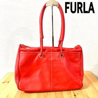 フルラ(Furla)の【FURLA】フルラ トートバッグ 赤 レッド バッグ(トートバッグ)