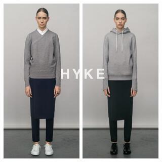 ハイク(HYKE)のHYKE✽レイヤードパンツ✽タグ付き(カジュアルパンツ)
