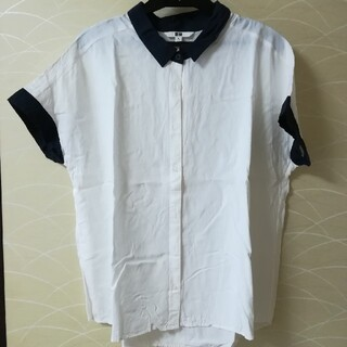 ユニクロ(UNIQLO)のシンプル★半袖シャツ(Tシャツ(半袖/袖なし))