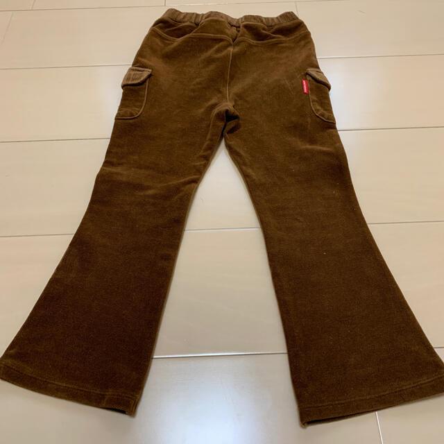 mikihouse(ミキハウス)のミキハウス パンツ 110   女の子 ブラウン キッズ/ベビー/マタニティのキッズ服女の子用(90cm~)(パンツ/スパッツ)の商品写真