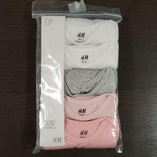 エイチアンドエム(H&M)の新品未開封 H&M ボディスーツ ロンパース 85(肌着/下着)