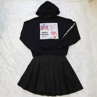 ラブトキシック(lovetoxic)の☆Lovetoxic☆パーカー スカート 上下2点  160サイズL レピピ  (ジャケット/上着)