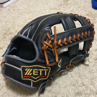 ゼット(ZETT)のZETT プロステイタス硬式用 内野 源田モデル(グローブ)