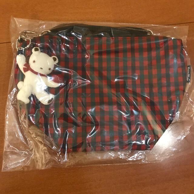 familiar(ファミリア)のファミリア ポシェット 赤 キッズ/ベビー/マタニティのこども用バッグ(ポシェット)の商品写真