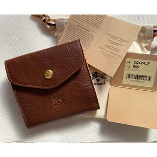 イルビゾンテ(IL BISONTE)のIL BISONTE イルビゾンテ 二つ折り ダブルフラップ式 財布 マロン(財布)