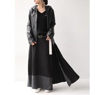 アンティカ モードデザインロングスカート