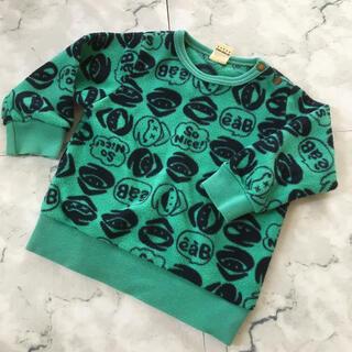 ベベ(BeBe)の子供フリース生地トレーナー(Tシャツ/カットソー)