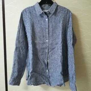 ユニクロ(UNIQLO)のギンガムチェック★シャツ(シャツ/ブラウス(長袖/七分))