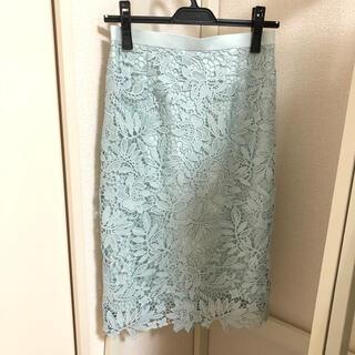 JUSGLITTY - ジャスグリッティ☆フラワーレースタイトスカート