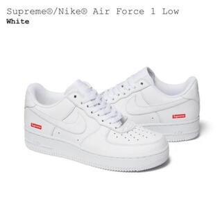 Supreme - Supreme Nike Air Force 1 Low White