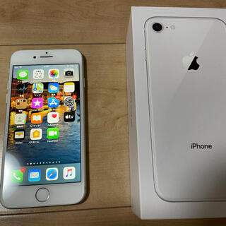 Apple - iPhone8 シルバー 64GB SIMフリー