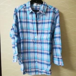 ユニクロ(UNIQLO)の七分袖★チェックシャツ(シャツ/ブラウス(長袖/七分))