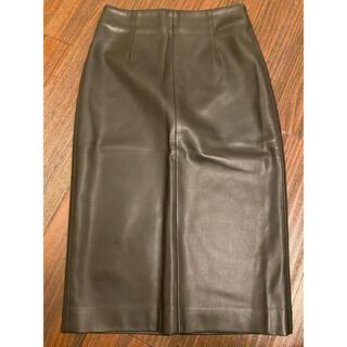 ZARA - zaraのレザースカート