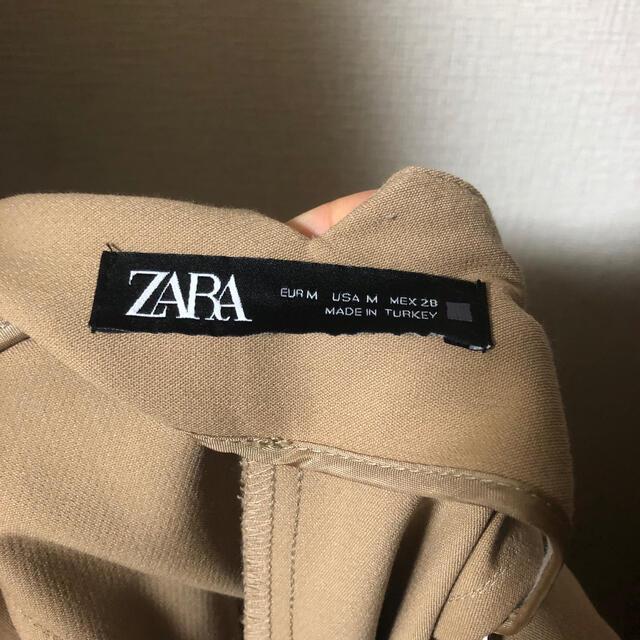 ZARA(ザラ)のZARA ハイウエストパンツ ゴールデンブラウン レディースのパンツ(カジュアルパンツ)の商品写真