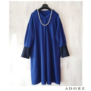 ADORE - ◆幻◆ 希少美品 定価4.7万円 ADORE シルキージャージーワンピース