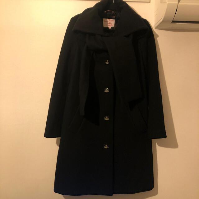 Vivienne Westwood(ヴィヴィアンウエストウッド)のヴィヴィアン リボンコート レディースのジャケット/アウター(ロングコート)の商品写真
