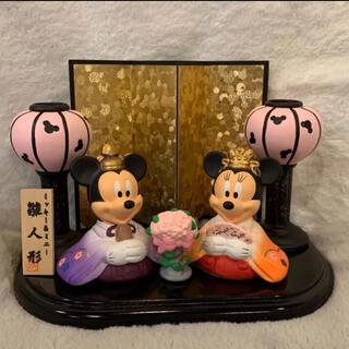 Disney - レア!ミッキー&ミニー 陶器 雛人形 箱シミあり