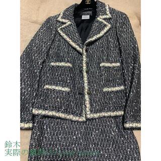 Dior - CHANEL ツイードスーツ 40/36