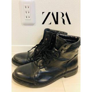 ザラ(ZARA)の【即納】ZARA ザラ ブーツ サイズ42 送料無料(ブーツ)