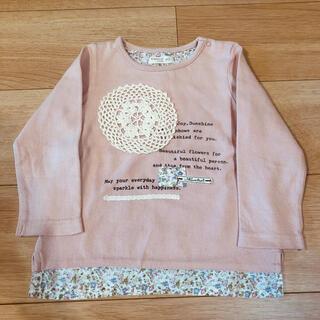 ビケット(Biquette)のビケット 長袖トップス ピンク 90(Tシャツ/カットソー)